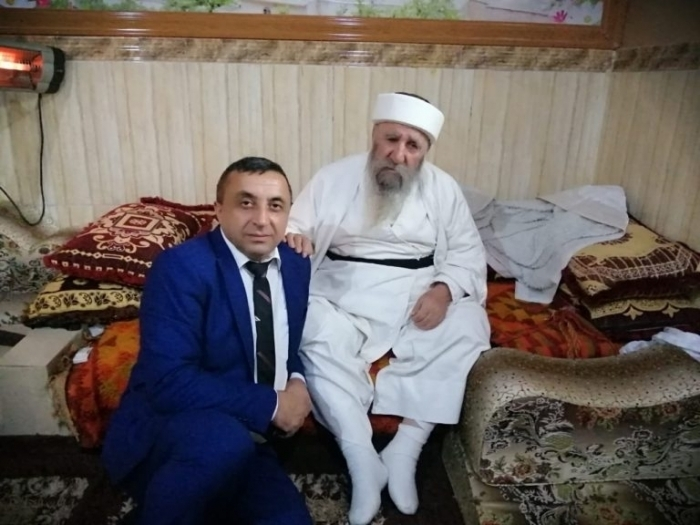 The representative of the IFCO met with the spiritual leader of the Yazidis in Sheikhan