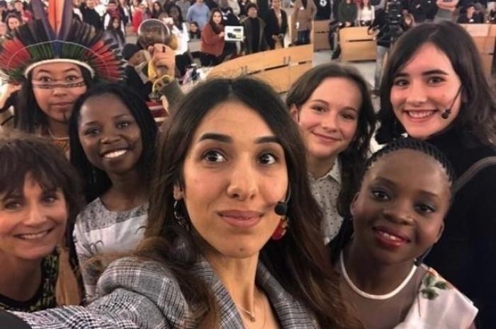 Надя Мурад была почетным гостем первого саммита молодых активистов в ООН в Женеве