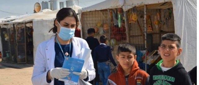 Команда «Amar» присоединяются к борьбе с коронавирусом в Ираке