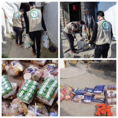 Гуманитарная помощь для езидов из МГО