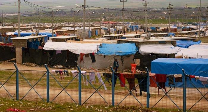 Зимняя суровость создает опасность для езидских беженцев