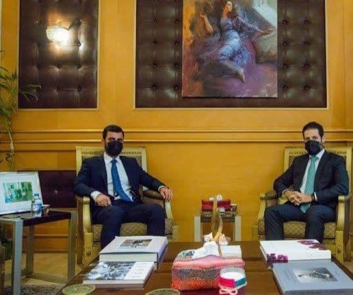 Каббад Талабани во время встречи с езидским активистом Абедом Шамдином заявил о своей поддержке езидским женщинам
