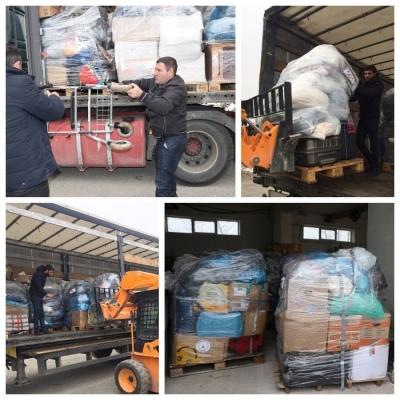 Из Германии в Армению доставлена гуманитарная помощь от езидов