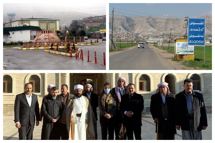 Alqosh: A model of inter-confessional coexistence of Yazidis, Christians and Arabs