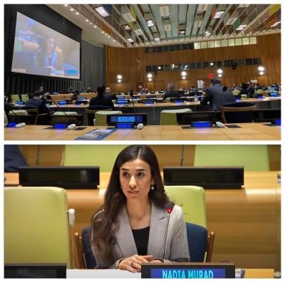 Представитель Канады в ООН выразил свою поддержку Надии Мурад