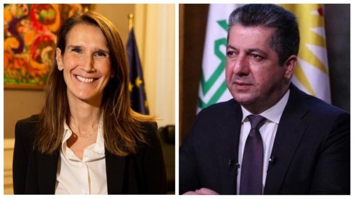 Проблемы езидских беженцев обсудили вице-премьер Бельгии и премьер Курдистана