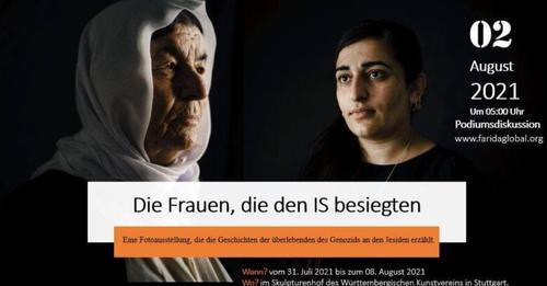 Фотовыставка «Женщины, выжившие и победившие ИГИЛ»