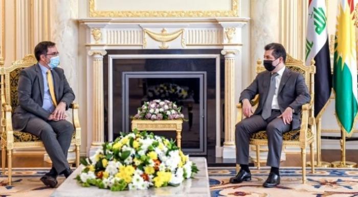 Премьер-министр Барзани и посол Великобритании обсудили «Синджарское соглашение»